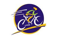 Логотип велосипеда Стоковая Фотография RF