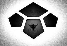 Логотип в форме плиток Стоковое Фото