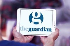 Логотип газеты попечителя Стоковые Изображения RF