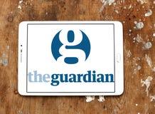 Логотип газеты попечителя Стоковые Фото