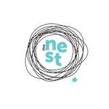 Логотип гнезда творческий _ Яичка Робина
