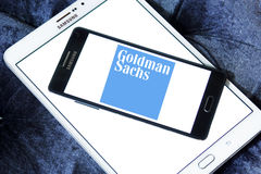 Логотип группы Goldman Sachs Стоковая Фотография RF