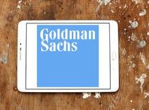 Логотип группы Goldman Sachs стоковые фотографии rf