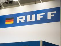 Логотип группы Ruff стоковые фото