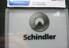 Логотип группы Schindler Стоковая Фотография