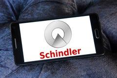 Логотип группы Schindler Стоковые Изображения RF