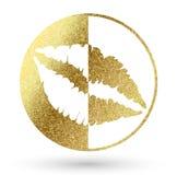 Логотип губ Стоковая Фотография