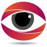Логотип глаза Стоковое Изображение RF