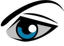 Логотип глаза Стоковая Фотография
