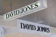 Логотип Дэвида Джонса стоковые фото