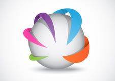 Логотип дела Стоковые Изображения RF