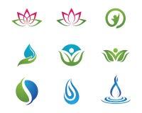Логотип жизни здоровья Стоковая Фотография RF