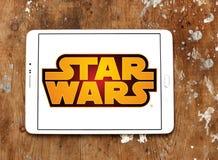 Логотип Звездных войн Стоковые Изображения RF