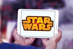 Логотип Звездных войн Стоковое Изображение RF