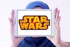 Логотип Звездных войн Стоковая Фотография RF