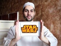 Логотип Звездных войн Стоковая Фотография