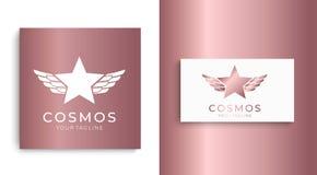 Логотип звезды Всеобщий абстрактный логотип с символом звезды для любого дела Знак звезды - руководитель, успех и сила иллюстрация вектора
