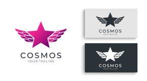 Логотип звезды Всеобщий абстрактный логотип с символом звезды для любого дела Знак звезды - руководитель, успех и сила иллюстрация штока