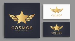 Логотип звезды Всеобщий абстрактный логотип с символом звезды для любого дела Знак звезды - руководитель, успех и сила бесплатная иллюстрация