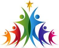 Логотип звезды пар Стоковые Изображения RF