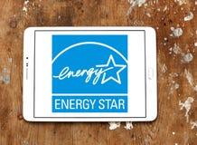 Логотип звезды энергии Стоковые Фото