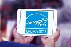 Логотип звезды энергии Стоковая Фотография