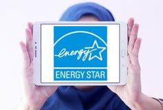 Логотип звезды энергии Стоковые Изображения