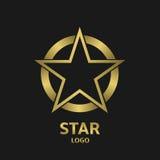 Логотип звезды Стоковое Изображение