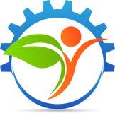 Логотип земледелия Стоковое Изображение RF