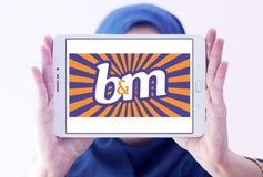 Логотип значения B&M европейский розничный Стоковые Фото