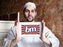 Логотип значения B&M европейский розничный Стоковые Изображения RF