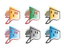 Логотип здания Стоковая Фотография