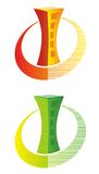 Логотип здания Стоковые Изображения