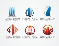 Логотип здания стоковое фото