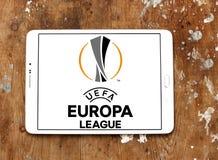 Логотип лиги Европы Uefa Стоковое фото RF