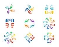 Логотип дизайна Стоковые Изображения RF