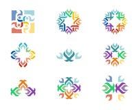 Логотип дизайна Стоковое Изображение RF