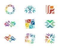 Логотип дизайна стоковая фотография rf