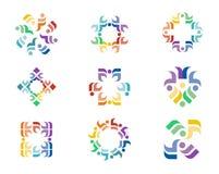 Логотип дизайна стоковые изображения
