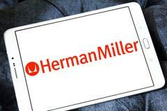 Логотип изготовителя мебели Хермана Miller Стоковое Изображение RF