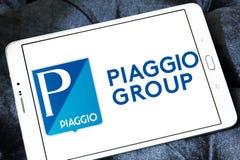 Логотип изготовителя моторного транспорта Piaggio Стоковая Фотография