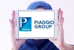 Логотип изготовителя моторного транспорта Piaggio Стоковое Изображение