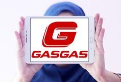 Логотип изготовителя мотоцикла газа газа Стоковые Фотографии RF