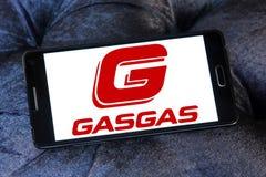 Логотип изготовителя мотоцикла газа газа Стоковое Изображение RF
