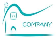 Логотип имущества ипотеки дома Стоковая Фотография