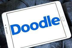 Логотип инструмента календаря интернета Doodle Стоковое Фото