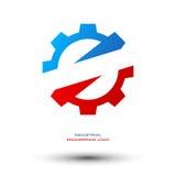 Логотип индустриальной инженерии Стоковое Изображение RF