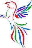 Логотип искусства орла Стоковые Фотографии RF
