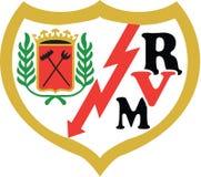 Логотип Испания Rayo Vallecano Стоковая Фотография