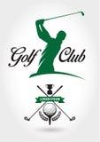 Логотип и значок гольф-клуба Стоковые Фото